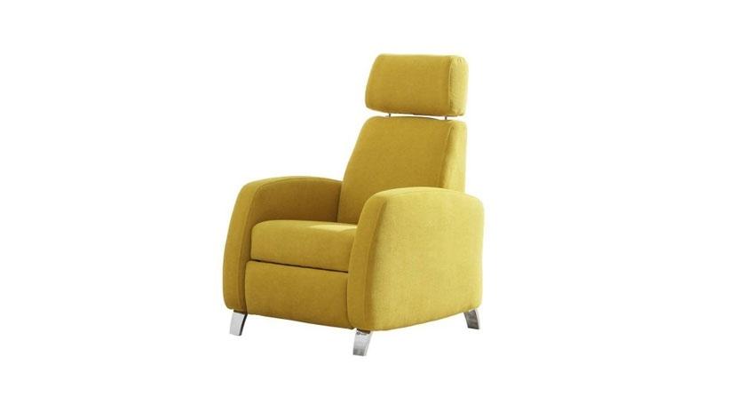 Sill n relax ergon mico de cabezal ajustable sofas cama for Sillon cama juvenil