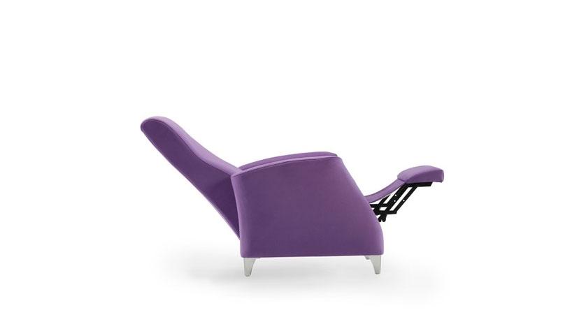 Sillón relax reclinable y ergonómico