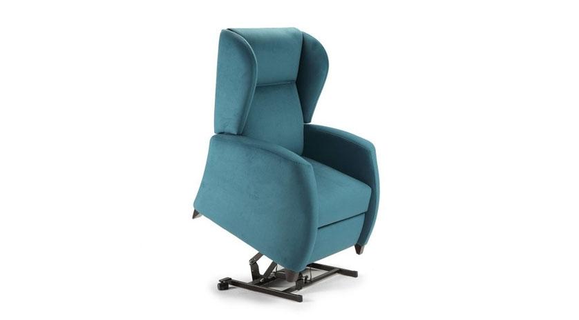 Sill n relax reclinable el ctrico de uno o dos motores - Sofas y sillones relax ...