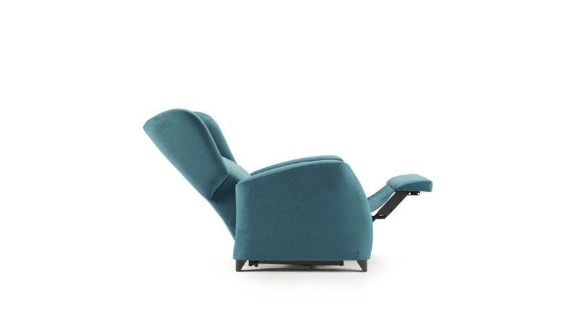 Sillón relax reclinable eléctrico de uno o dos motores.