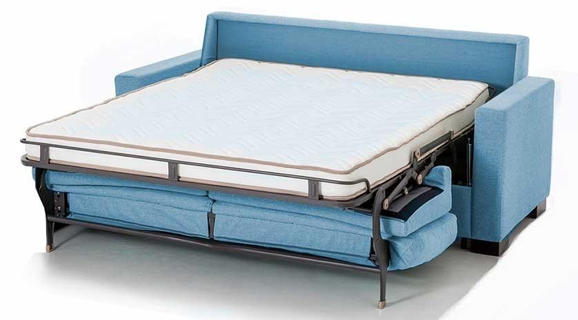 sofá cama de matrimoni con brazo estrecho