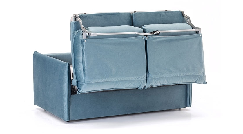 sofá cama pequeño con cama de 120 cm