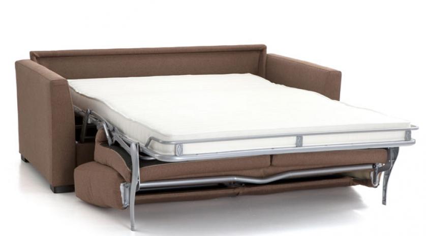 sofá cama de matrimonio abierto