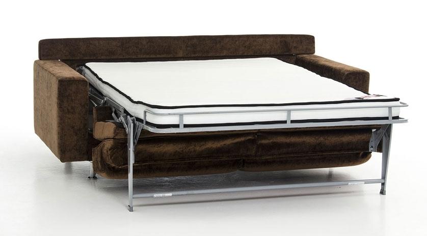 Sofá cama de diseño abierto
