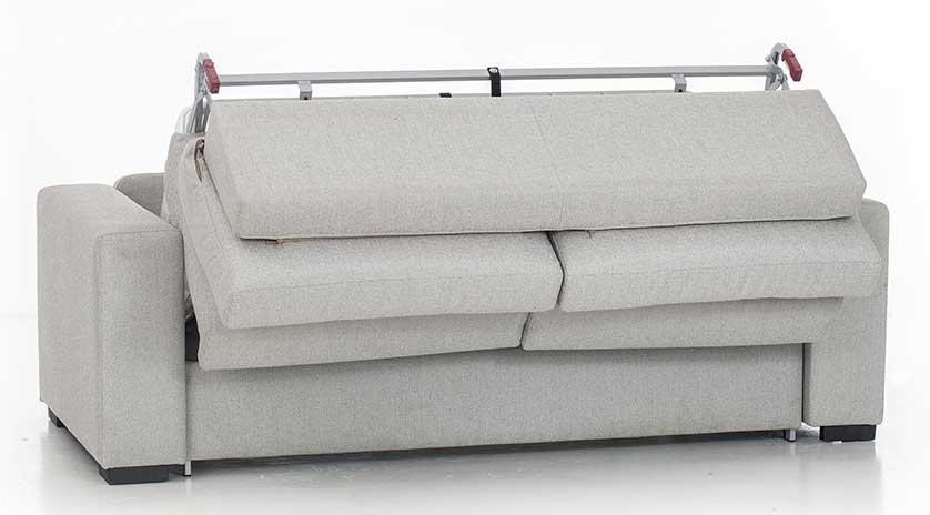 Sof cama de matrimonio con respaldo capiton sofas for Sofa cama para exterior