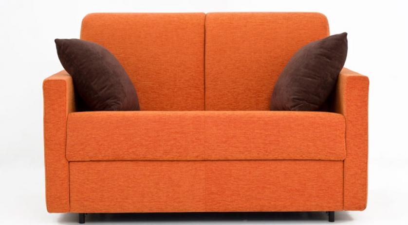 sofá cama pequeño frontal
