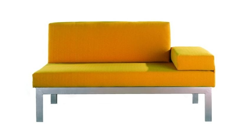 Sof cama horizontal de 80 x 200 sofas cama cruces for Sofa cama desmontable