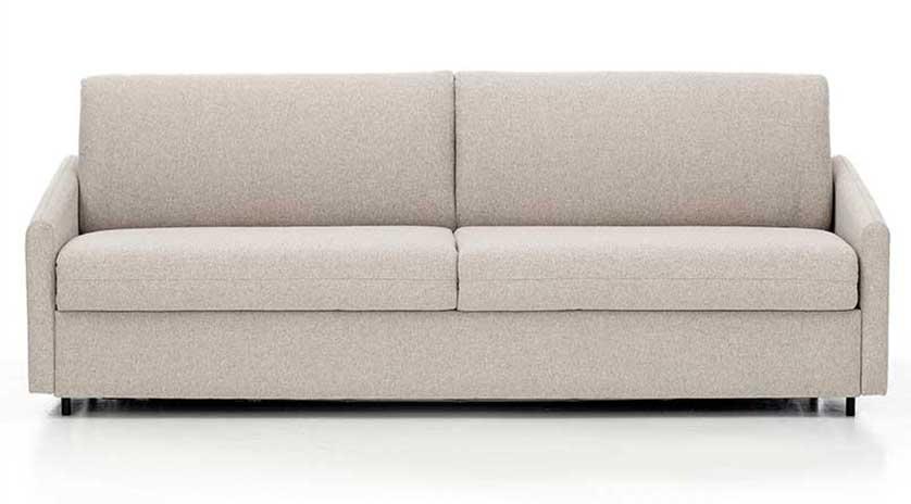 Sofá cama horizontal abierto