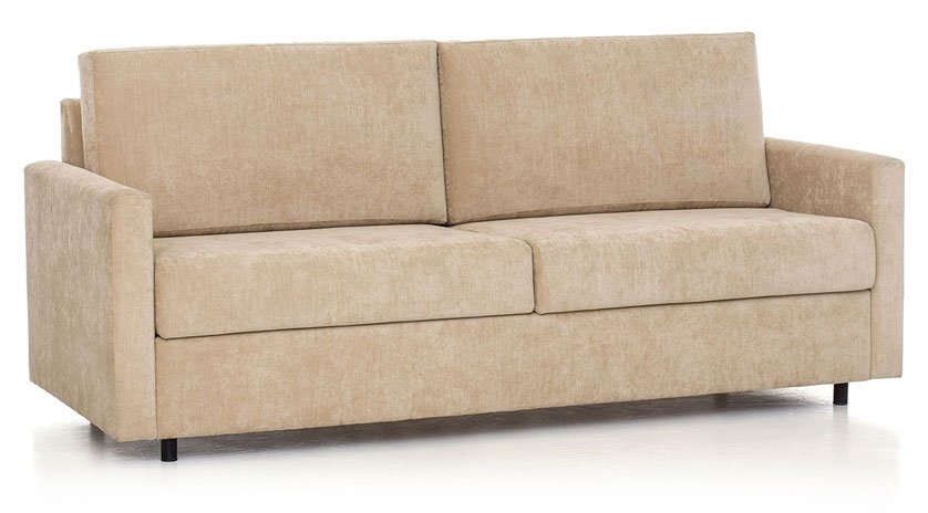 Sofá cama horizontal perspectiva
