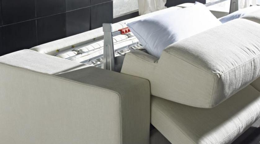 Sofá cama chaise longue apertura