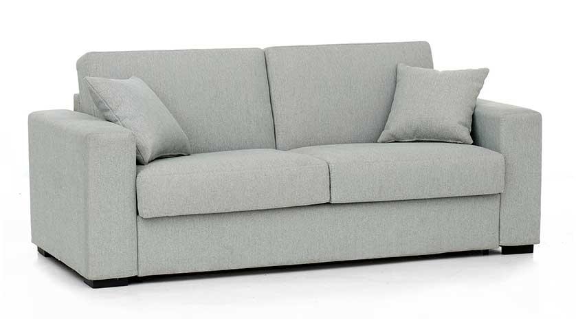Sof cama de matrimonio con colch n viscoel stico sofas for Sillones cama modernos