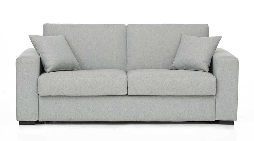 Sofá cama con colchón viscoelástico