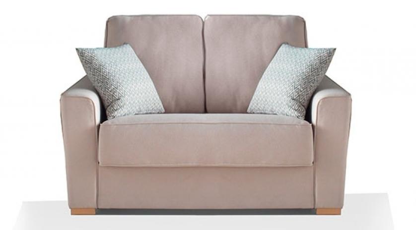 Sof cama peque o con cama de 90cm sofas cama cruces for Sofas cheslong pequenos
