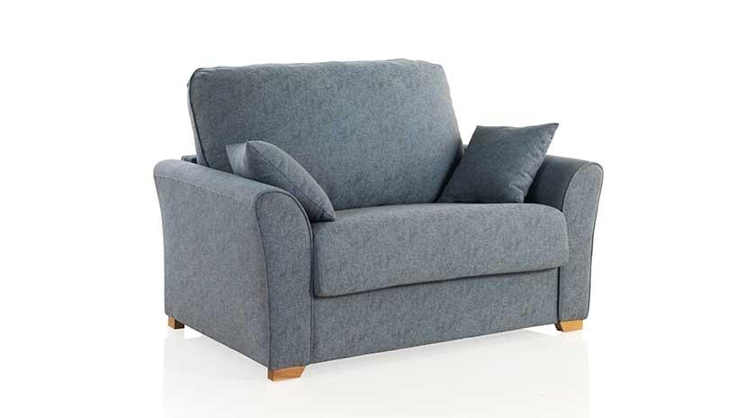 Sof cama peque o y cl sico sofas cama cruces - Sofa cama clasico ...