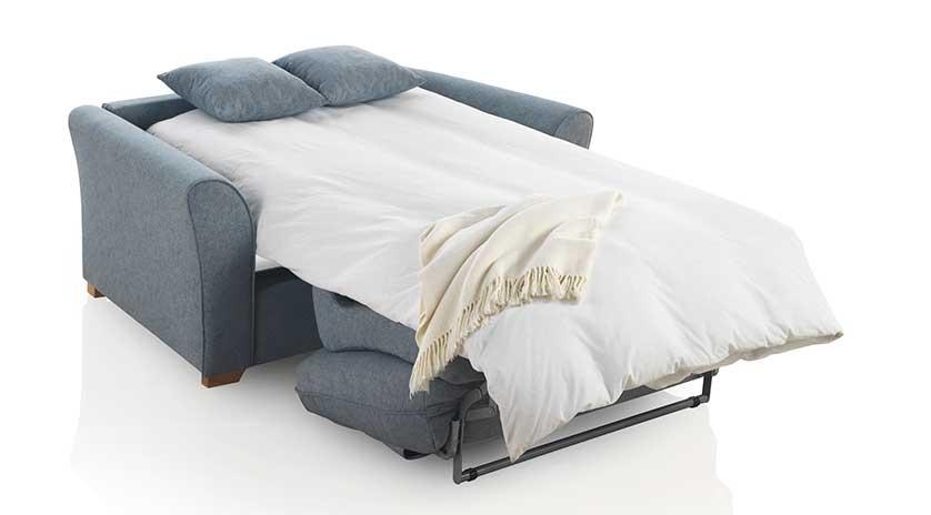 Sofá cama pequeño apertura