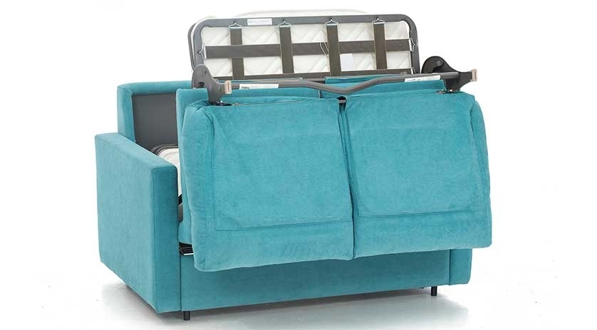 Sof cama peque o y actual sofas cama cruces for Sofa cama pequeno conforama