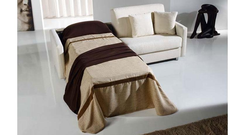 Sofá cama con dos camas 1 montada