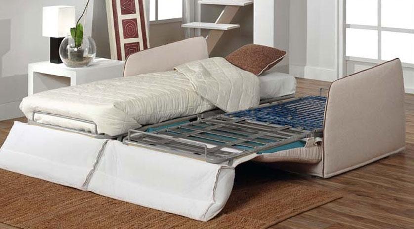 Sofá cama 2 camas gemelas 2 abiertas