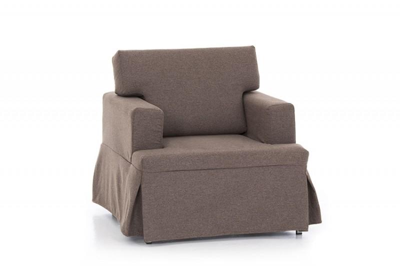 Sof cama peque o con medidas reducidas sofas cama cruces for Sillon cama pequeno
