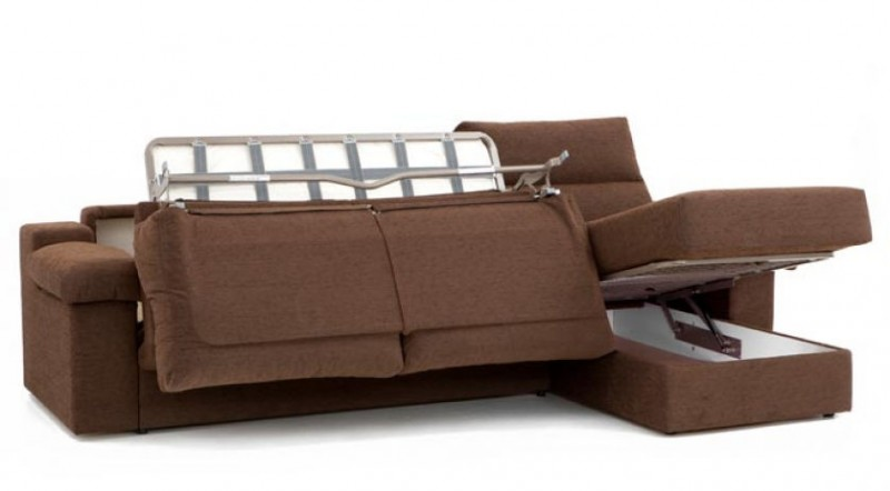 Sof cama chaise longue sofas cama cruces for Sofas cama chaise longue